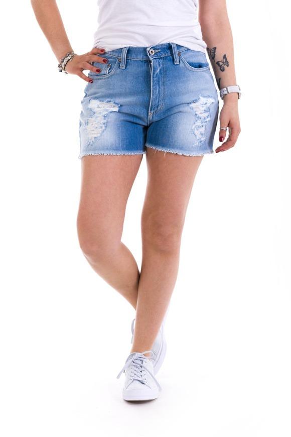 Picture of Please - Bermuda/Shorts P13 - Blu Denim
