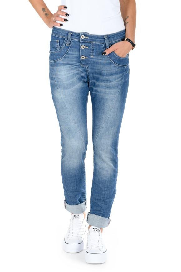 Picture of Please - Jeans P78 - Blu Denim