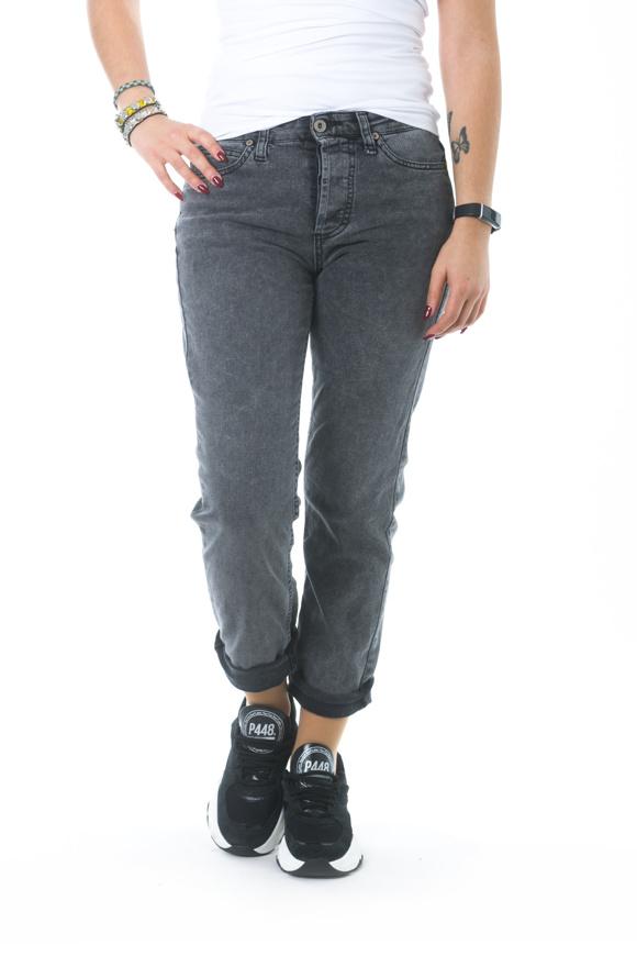 Picture of Please - Jeans P33 IV0 - Nero Denim