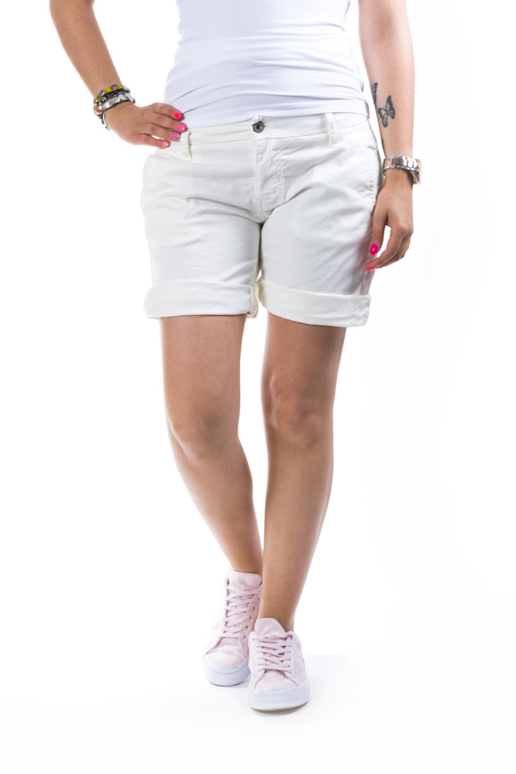 Picture of Please - Shorts D005 - Bad White