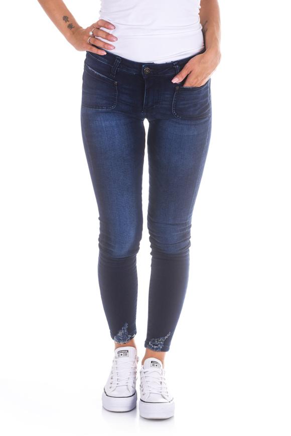 Picture of Please - Jeans P0 ENA - Skinny - Blu Denim