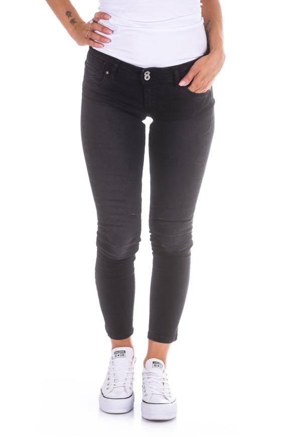 Picture of Please - Jeans P82 PRA - Nero Denim