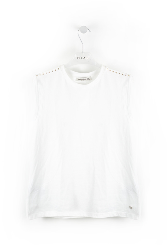 Picture of Please - Round neck tank top - Biano Lana