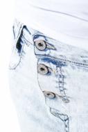 Immagine di Please - Jeans P78 N4L - Blu Denim
