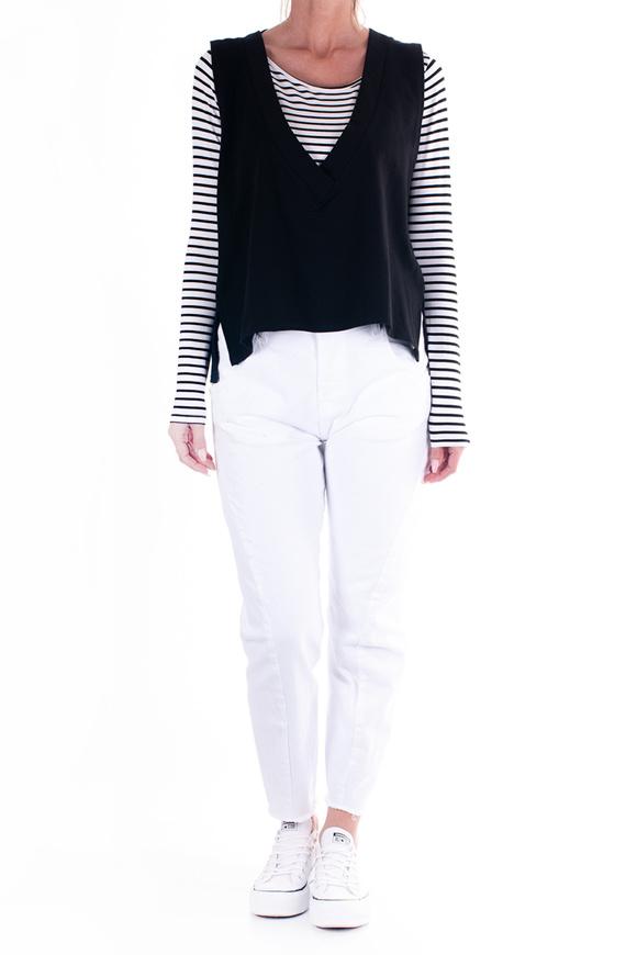 Bild von LE STREGHE - pullover - schwarz/weiß